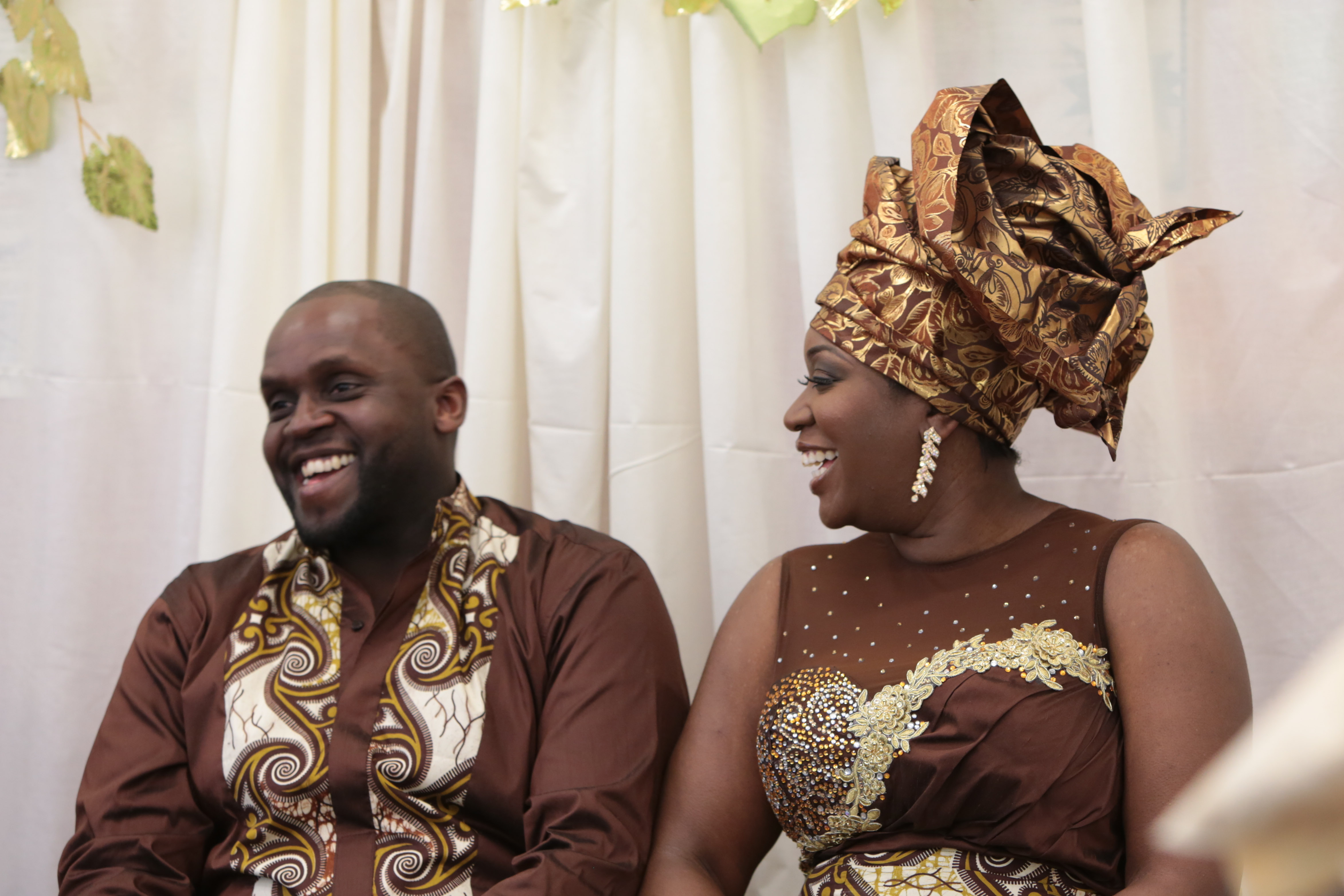 Catherine Amp Jeffreys Traditional Ghanaian Engagement Ceremony London