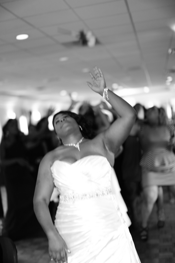 Black and White African American Wedding | Jazzymae Photography 10