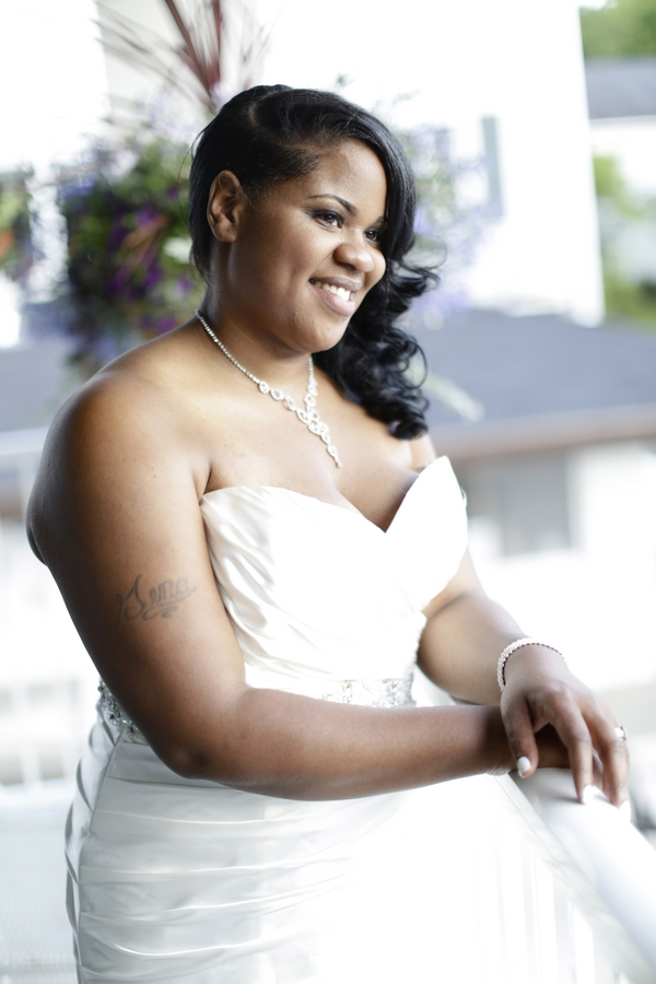 Black and White African American Wedding | Jazzymae Photography 11