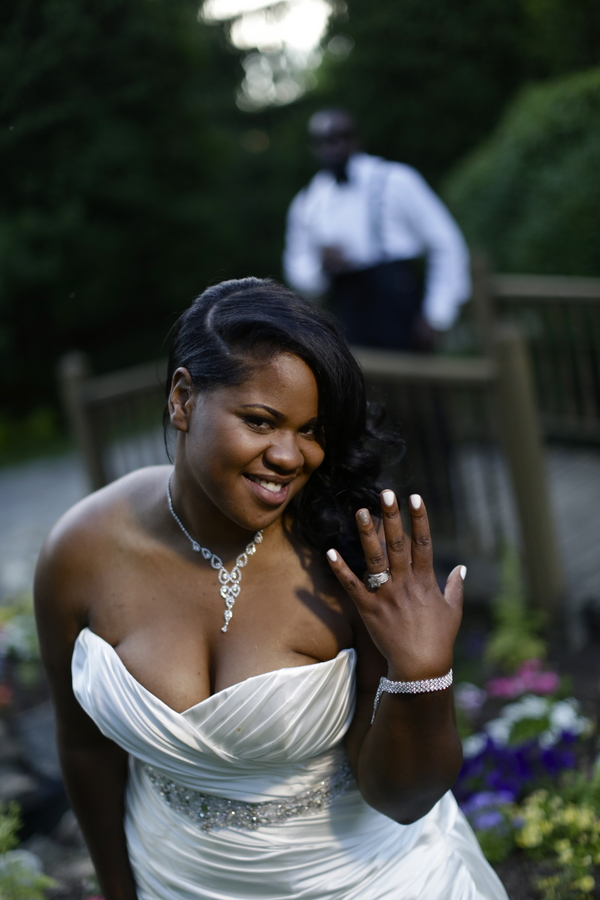 Black and White African American Wedding | Jazzymae Photography 12
