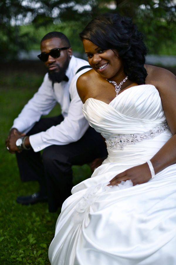Black and White African American Wedding | Jazzymae Photography 13