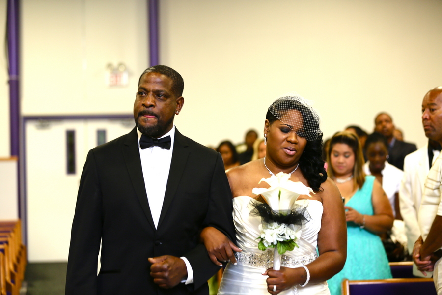 Black and White African American Wedding | Jazzymae Photography 15