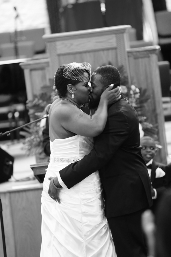 Black and White African American Wedding | Jazzymae Photography 18