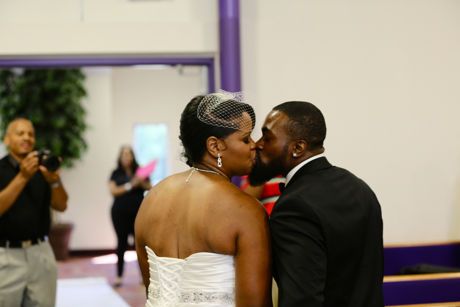 Black and White African American Wedding | Jazzymae Photography 20