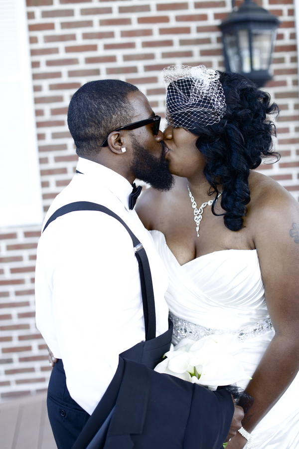Black and White African American Wedding | Jazzymae Photography 4