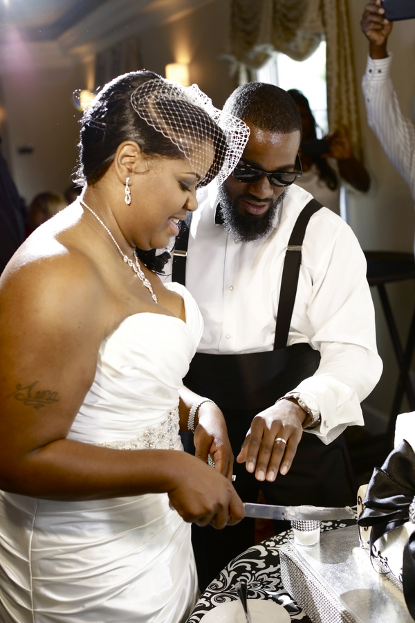 Black and White African American Wedding | Jazzymae Photography 7
