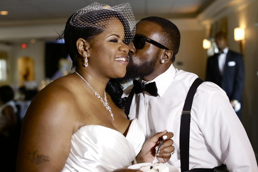 Black and White African American Wedding | Jazzymae Photography 8