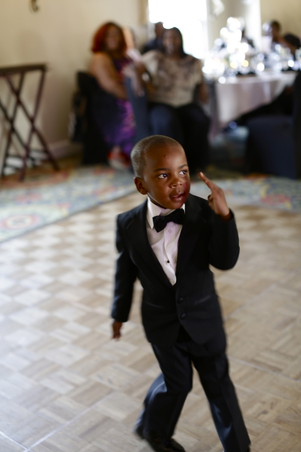 Black and White African American Wedding | Jazzymae Photography 9