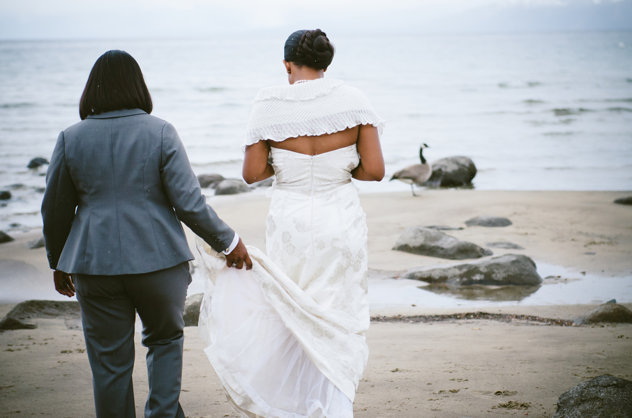 Dreamy African American Wedding | Lauren Lindley Photography 10
