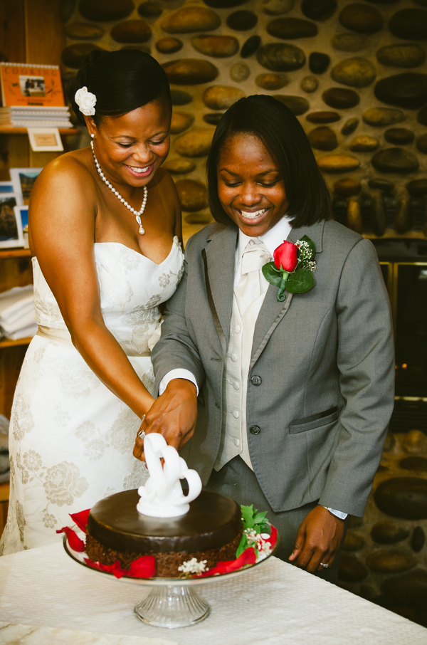Dreamy African American Wedding | Lauren Lindley Photography 11
