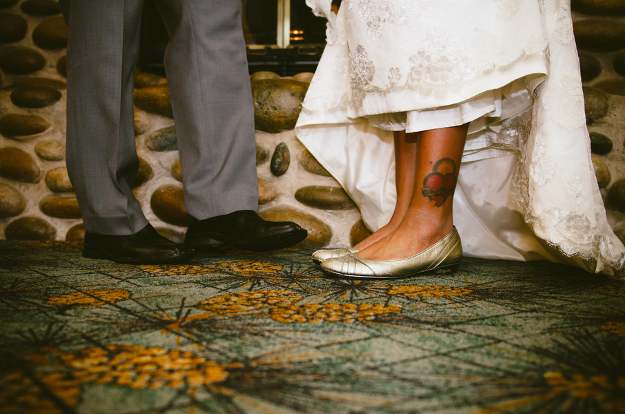 Dreamy African American Wedding | Lauren Lindley Photography 2