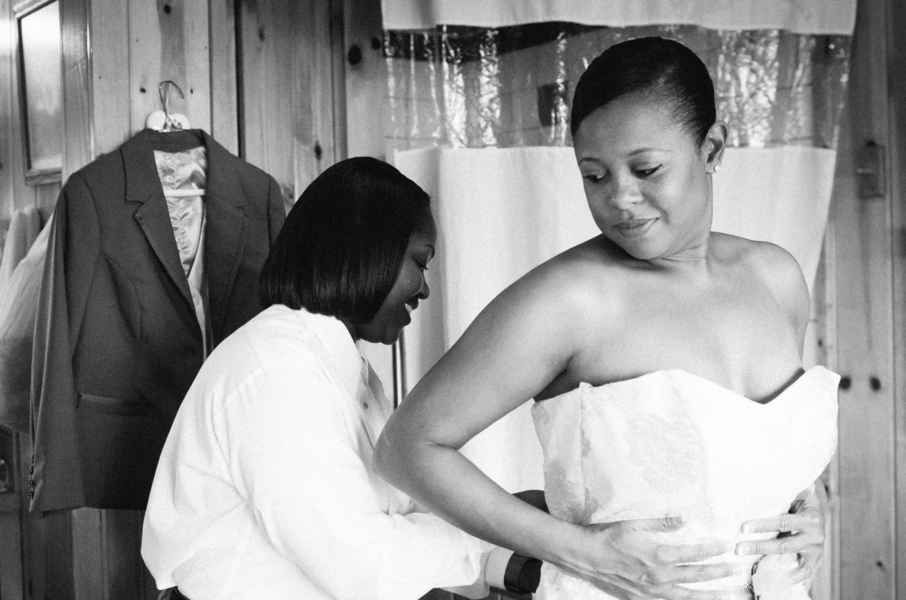 Dreamy African American Wedding | Lauren Lindley Photography 24