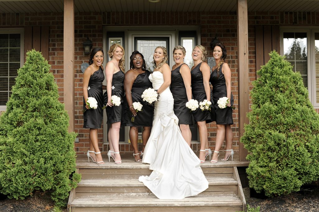 Ontario Black and White Style Intimate Wedding | Benoit Photography 15