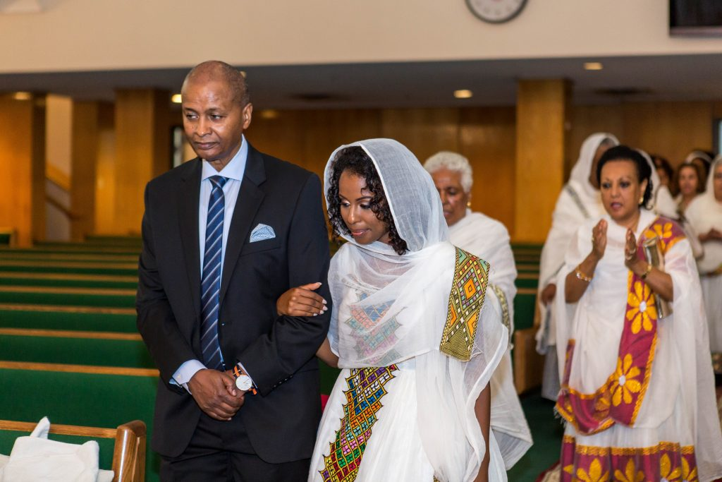 Royal Purple Ethiopian American Wedding | Double You Photos 02