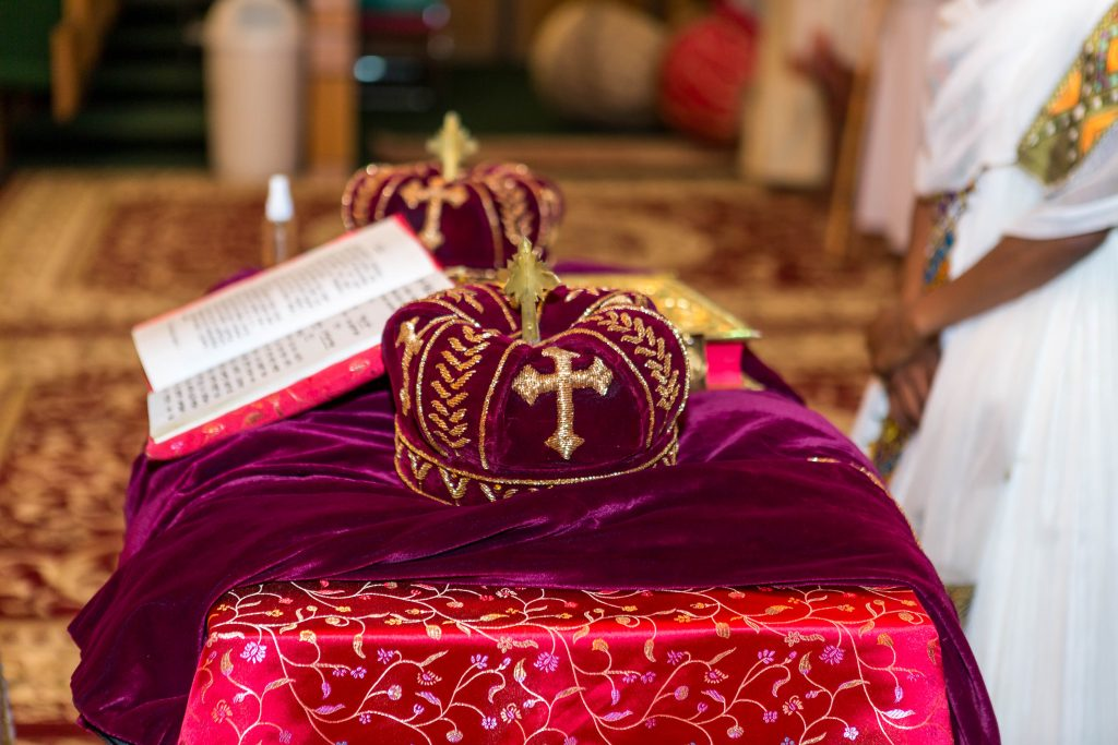 Royal Purple Ethiopian American Wedding | Double You Photos 03