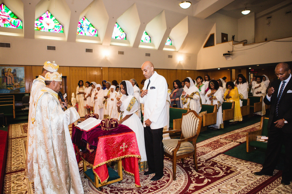 Royal Purple Ethiopian American Wedding | Double You Photos 04