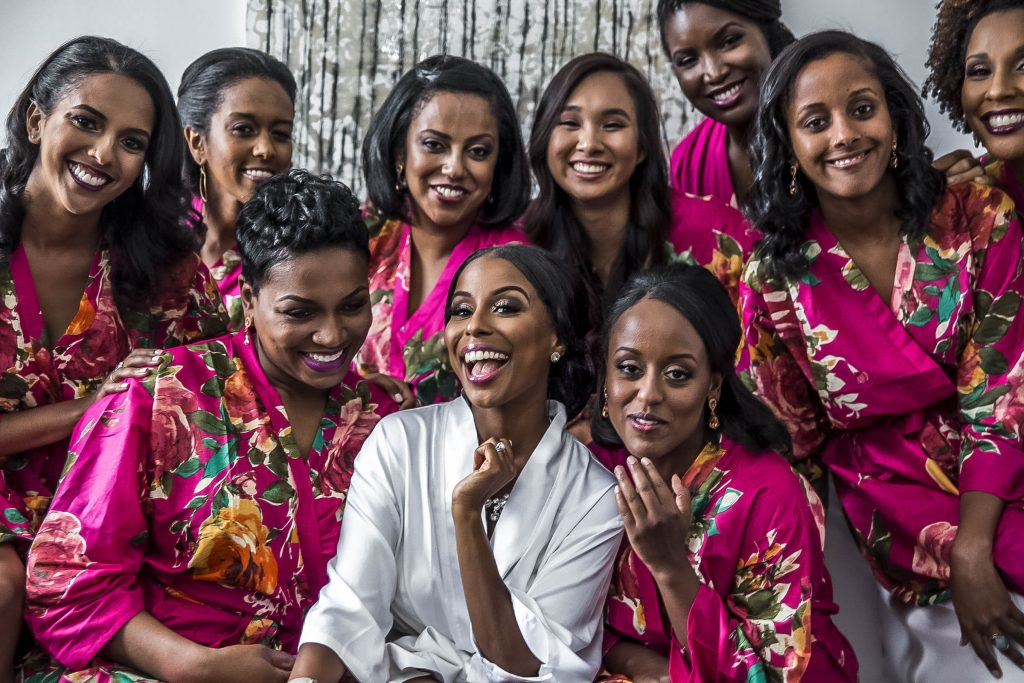 Royal Purple Ethiopian American Wedding | Double You Photos 08