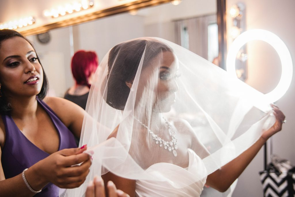 Royal Purple Ethiopian American Wedding | Double You Photos 12