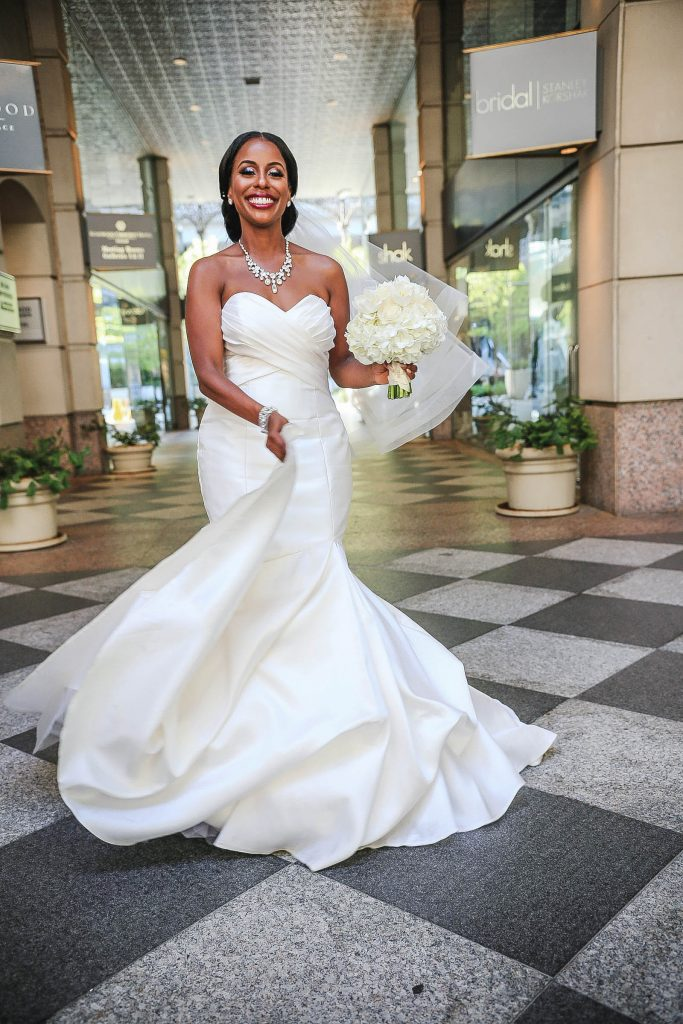 Royal Purple Ethiopian American Wedding | Double You Photos 15
