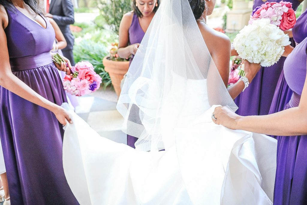Royal Purple Ethiopian American Wedding | Double You Photos 17