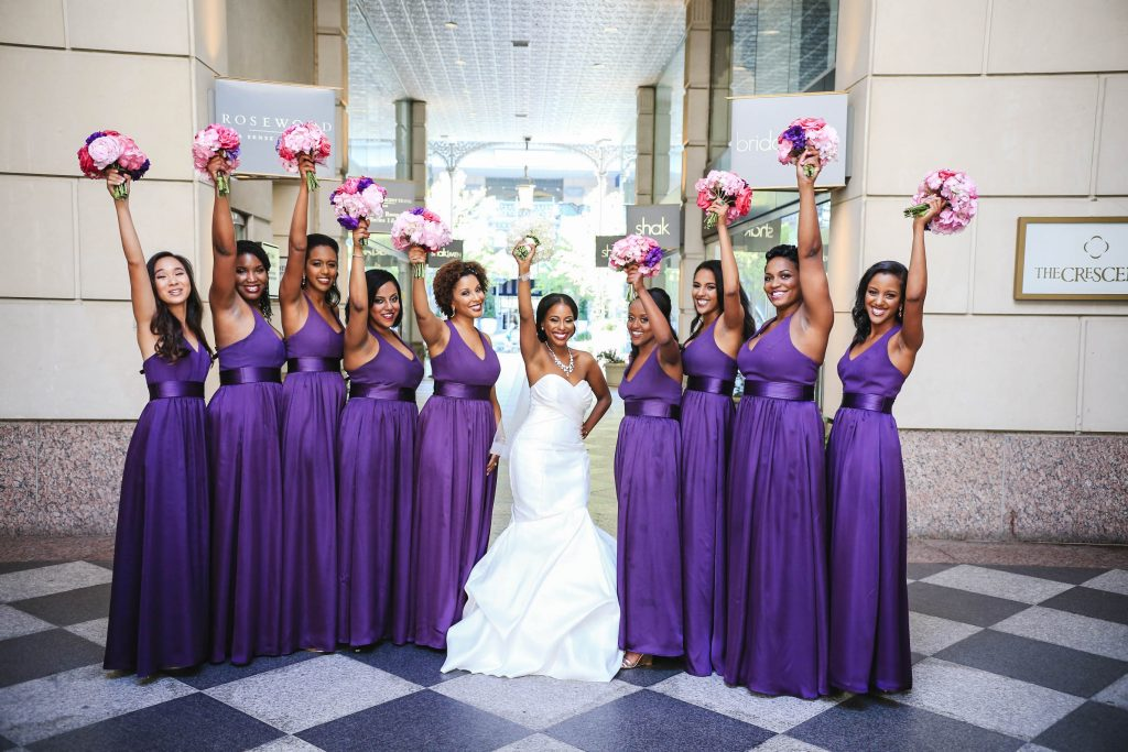 Royal Purple Ethiopian American Wedding | Double You Photos 18