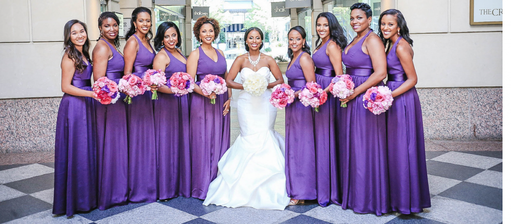 Royal Purple Ethiopian American Wedding | Double You Photos 19