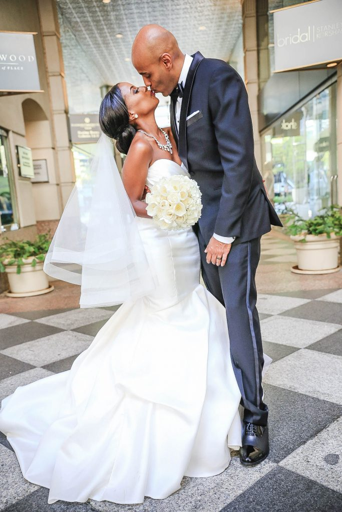 Royal Purple Ethiopian American Wedding | Double You Photos 22