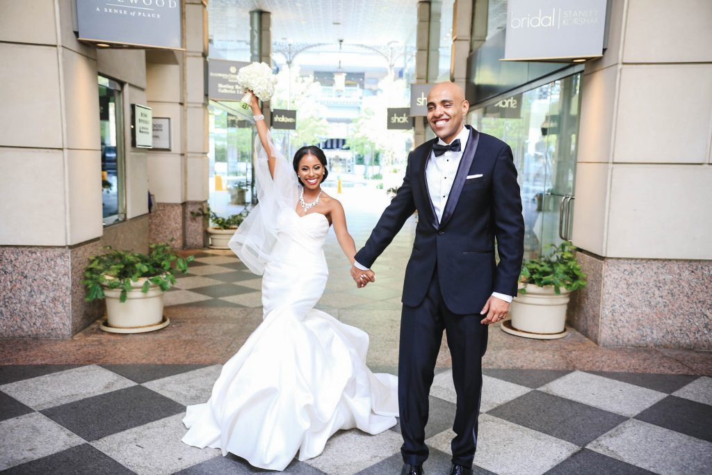 Royal Purple Ethiopian American Wedding | Double You Photos 23