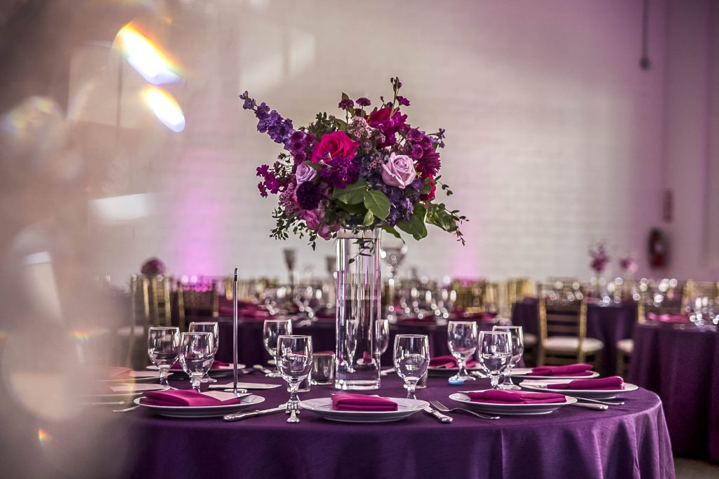 Royal Purple Ethiopian American Wedding | Double You Photos 29