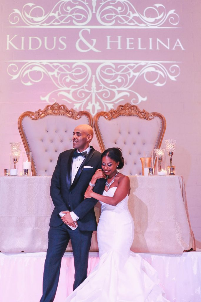Royal Purple Ethiopian American Wedding | Double You Photos 38