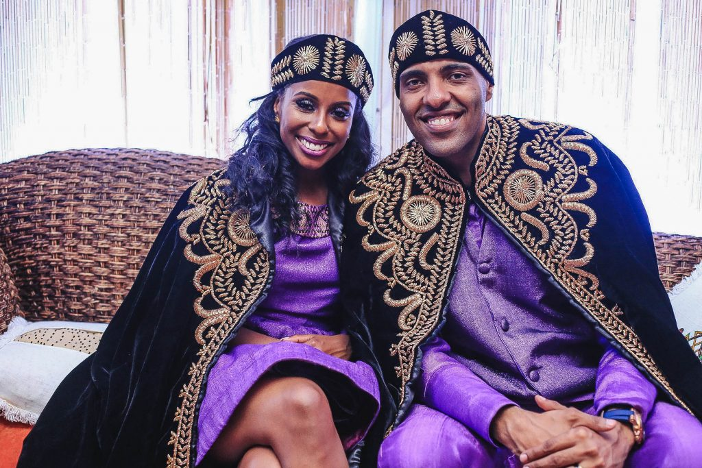 Royal Purple Ethiopian American Wedding | Double You Photos 45