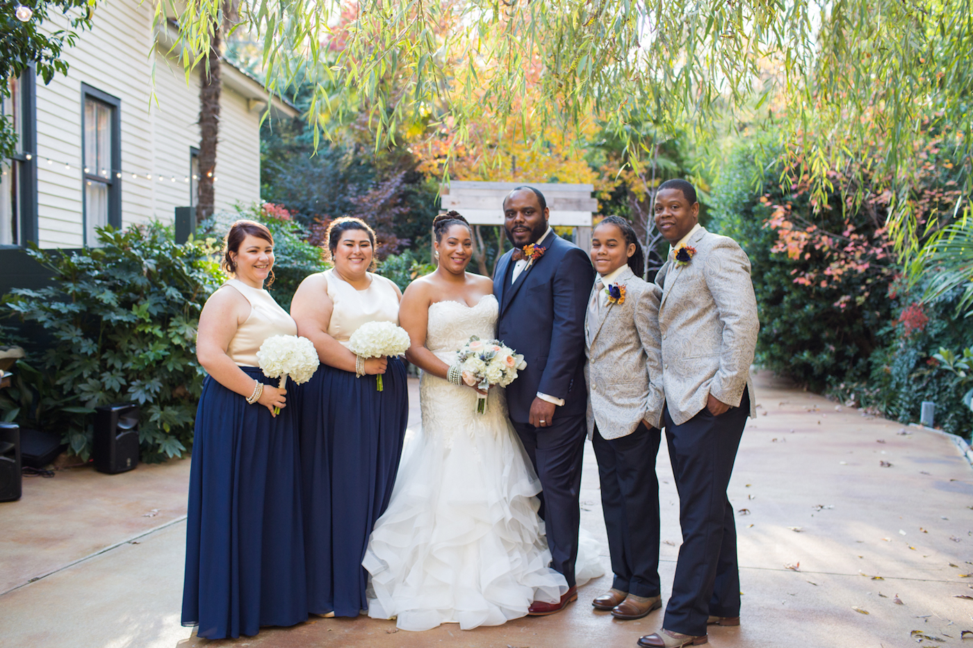 Wedding Venues In Lexington Sc | Intimate Garden Wedding The Big Fat African Wedding